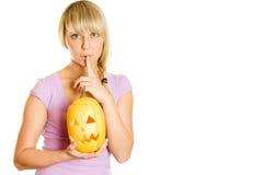 Shhhhhhhh Halloween Stock Image