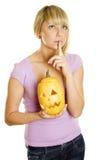Shhhhhhhh Halloween Royalty Free Stock Photography
