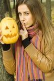 Shhhhhhhh Halloween Royalty Free Stock Photos
