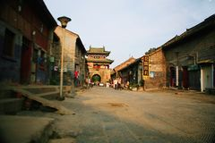 Those things in the old city of Luoyang stock images