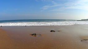 Shi Lanka ocean waves. And beach stock video footage