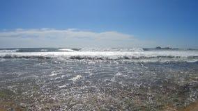 Shi Lanka ocean waves. And beach stock footage