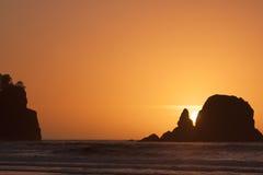 Shi Shi plaża Zdjęcie Stock