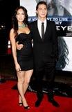 Shia LaBeouf et Megan Fox Image libre de droits