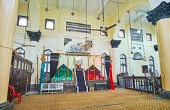 In Shia Mosque van Yangon, Myanmar Royalty-vrije Stock Fotografie