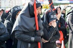 Shia Muslim women mourn during an Ashura Stock Photo