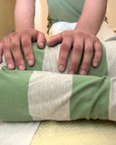 shiatsu массажа Стоковое Фото