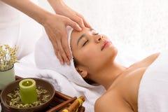 Shiatsu masaż fotografia stock