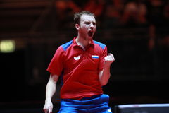 SHIBAEV Alexander from Russia celebrate. Royalty Free Stock Photos