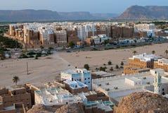 Shibam,也门 图库摄影