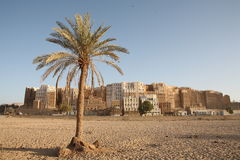 Shibam - berühmte jemenitische Stadt Lizenzfreies Stockbild