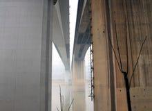 The Shibanpo Bridge in Chongqing Royalty Free Stock Image