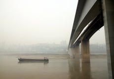 The Shibanpo Bridge in Chongqing Royalty Free Stock Photo