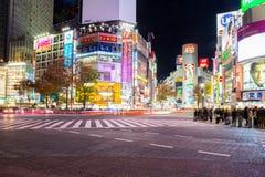 Shibuya横穿 免版税库存图片