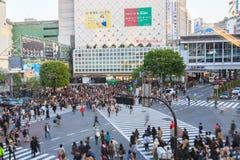Shibuya横穿 免版税库存照片