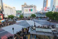Shibuya横穿 库存图片