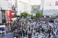 Shibuya横穿 图库摄影