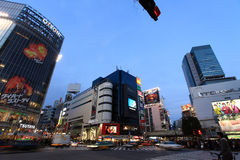 Shibuya-Überfahrt, Tokyo, Japan Lizenzfreies Stockfoto