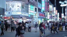 Shibuya - занятый и популярный район в токио - ТОКИО/ЯПОНИЯ - 12-ое июня 2018 акции видеоматериалы