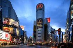 Shibuya, токио, Япония Стоковое фото RF