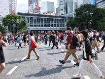 Shibuya, Токио Стоковое Изображение