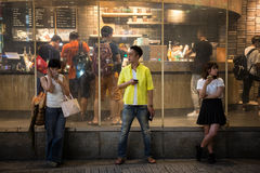 Молодежная культура Shibuya Стоковое Изображение