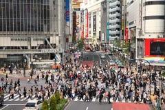 Shibuya Royaltyfria Foton