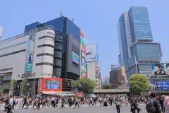 Shibuya Cityscape Tokyo Stock Images