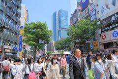 Shibuya Cityscape Tokyo Stock Image