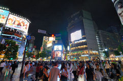 Shibuya Crossing Royalty Free Stock Images