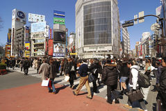 Shibuya crossing Royalty Free Stock Image