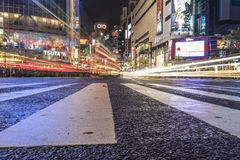 Shibuya Crossing Royalty Free Stock Photo