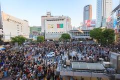 Shibuya Crossing Royalty Free Stock Photos