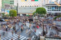Shibuya Crossing Stock Photography