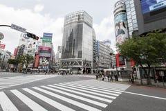 Shibuya Crossing Royalty Free Stock Images