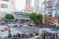 Shibuya Crossing Royalty Free Stock Image