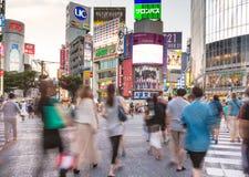 Shibuya crossing in Tokya Stock Photo
