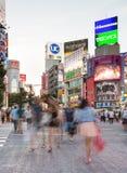 Shibuya crossing in Tokya Royalty Free Stock Photography