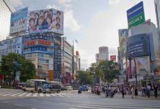 Shibuya crossing,Tokyo Royalty Free Stock Image