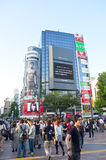 Shibuya crossing,Tokyo Royalty Free Stock Photos