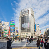 Shibuya crossing in Tokyo Stock Image