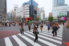 Shibuya crossing Stock Photography