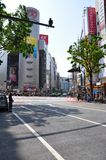Shibuya district Royalty Free Stock Images