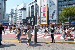 Shibuya district in Tokyo, Japan Royalty Free Stock Image