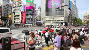 Shibuya. Editorial. Royalty Free Stock Photo