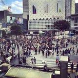 Shibuya kors Arkivfoto