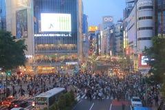 Shibuya night Tokyo Japan Royalty Free Stock Image