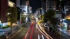 Shibuya nocy widok zdjęcia royalty free