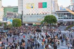 Shibuya Skrzyżowanie Zdjęcia Royalty Free