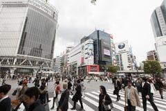 Shibuya Skrzyżowanie Zdjęcie Stock